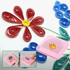 Easy Quilling Winder Grid Board – Diy Gifts For Friends Paper Quilling Patterns, Quilled Paper Art, Quilling Paper Craft, Paper Crafts, Paper Quilling Tutorial, Diy Crafts To Sell, Diy Crafts For Kids, Arts And Crafts, Quilling Techniques