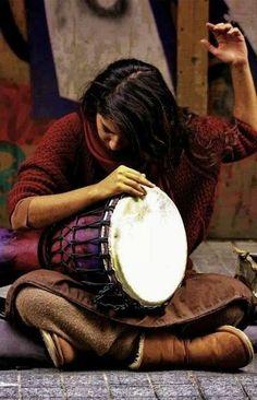 Passionate drummer