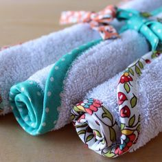 The Beauty of Bias Tape Part 2: Freshen Up an Old Towel | eHow Crafts | eHow