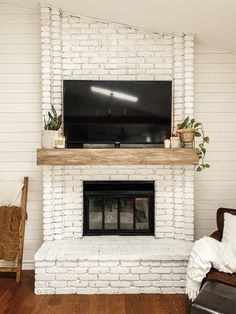 Favorite Neutral Paints & Stains | Full Hearted Home Best Wood Stain, Dark Wood Stain, Wood Mantle Fireplace, Home Fireplace, Exterior Wood Stain Colors, Neutral Paint, Brown Walls, Ship Lap Walls, Paint Colors For Home