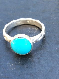 Turquoise ring size 4.5