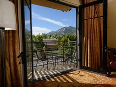 If you're angling to stay in the heart of Boulder's plentiful downtown, with over 200 shops and 80 restaurants, then there's no better place to retire than St. Julien Hotel