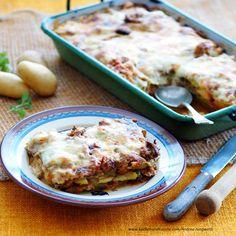 Foto: A. Veggies, Ethnic Recipes, Food, Souffle Dish, Lasagna, Oven, Apple, Cooking Recipes, Food Food