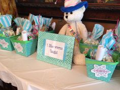 Frozen Party!  Goodie Bag table