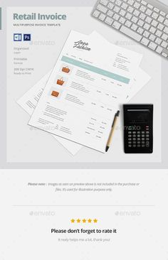 Sales Invoice Us Letter Template  Simple Letters And Cleanses