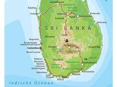 Maak een rondreis door Sri Lanka, een van de mooiste eilanden van Azië! Dit is de beste route met de mooiste plekken van Sri Lanka!