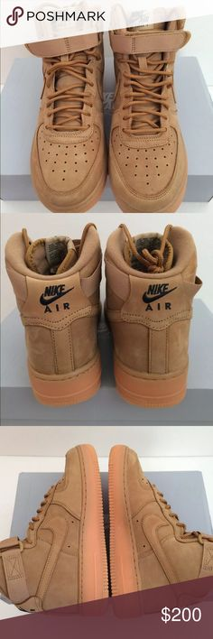 "Air Force 1 ""Flax Wheat"" Size 6y : OG : SERIOUS BUYERS ONLY: Paypal only Jordan Shoes Sneakers"