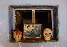 Tradicional Artesanías del Familia Blanco. Teodora Blanco Tienda del Barro.   Santa María Atzompa, Oaxaca, México.  Foto por Rebecca Bewick, Febrero 2015. //