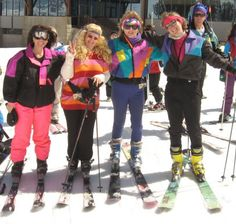 80s ski gear - Google Search