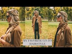 TUTORIAL | My Favorite Go To Hairstyle - YouTube