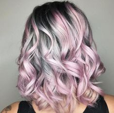 A mix of silver and pink by Jamie Kindschuh