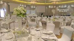 White And Silver Wedding Decor