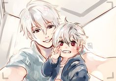 Zen and his son (?)