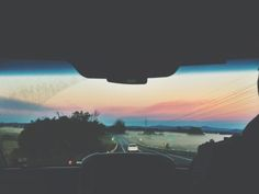 6 .a.m on a 10 hour-long road trip with my best friends heading home from the best music festival in the country