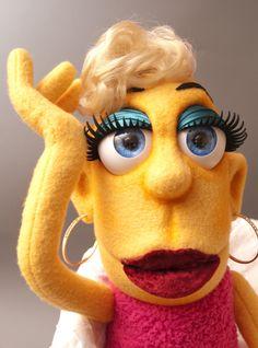 Great eyes! Ilse Bill by Zuckerli's Puppet Workshop