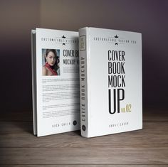 The cover of a book plays an important factor in attracting its readers. A book with compelling content but an unattractive cover design will fail to invoke any interest among… Book Cover Design Template, Magazine Cover Template, Photoshop Book, Best Book Covers, Mockup Templates, Illustration, Books, Website, Free