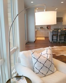 family room target threshold - Arc Floor Lamps