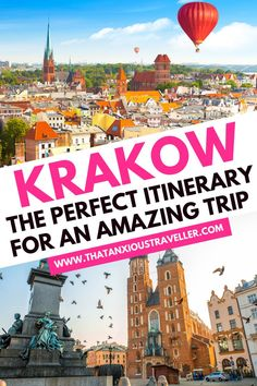 Looking for some amazing things to do in Krakow, Poland? Discover everything this beautiful city has to offer, with this in-depth Krakow itinerary! Europe Destinations, Europe Travel Guide, Travel Guides, Travelling Europe, Traveling, Amazing Destinations, Ukraine, Poland Travel, Budget