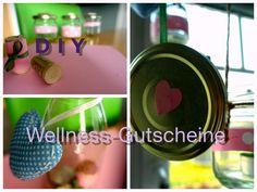 Wellness-Gutscheine kreativ selber basteln, gestalten und verschenken - 3 neu DIY Ideen.