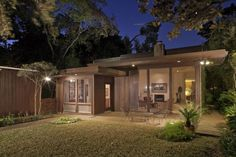 A meticulously maintained mid-century architectural designed by M. Arthur Kotch