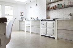 Blakes London, Designer Is In, Scandi Renovation Kitchen, White Aga   Remodelista