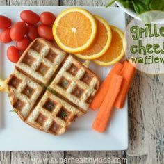 waffle grilled cheese sandwich?- healthy and so good.