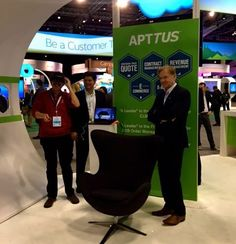 Apttus looks to the future with bots and virtual realityLast year Apttus, which provides pricing, quoting and contract building on the Salesforce platform was growing at a crazy rate. It appeared to be headed to..