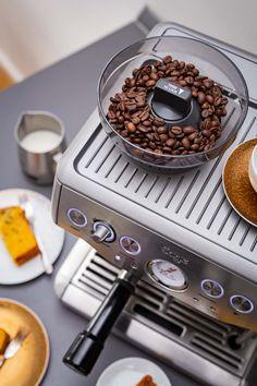 Coffee Bar Home, Home Coffee Stations, Coffee World, Coffee Corner, Coffee Break, Coffee Love, Best Home Espresso Machine, Breville Espresso, Work Cafe