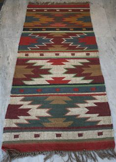 kilim rug, runner, turkish/persian runner, wool jute runner, turkish mat carpet #Unbranded