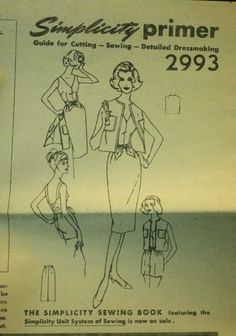 Simplicity 2993 1950s 50s Halter Top Shorts by EleanorMeriwether, $12.00