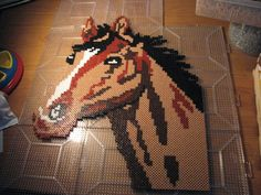 Horse perler beads by ndbigdi on deviantart