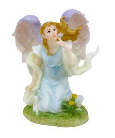 "Amazon.com - ROMAN Seraphim Classics ""Heaven On Earth"" - Justine Angel Wishes - Collectible Figurines"