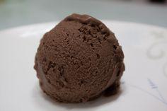 Homemade Coconut milk chocolate ice cream