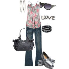 lunch with the girls, created by mom22angels.polyvore.com