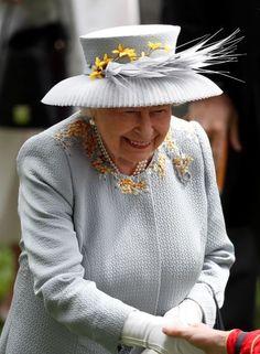 Jun 20, 2019 in AK | Royal Hats Audrey Hepburn Style, Duke Of York, Royal Ascot, Gold Silk, Queen Elizabeth Ii, Ladies Day, Silk Flowers, Different Styles, Jun