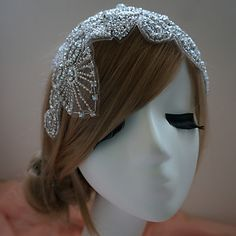 Handmade Rhinestone Wedding/Special Occation Headbands – USD $ 40.49