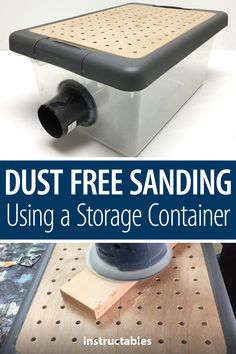 Woodworking Holz This simple project for dust-free sanding using a storage container can be finished in a single weekend. Holz This simple project for dust-free sanding using a storage container can be finished in a single weekend.