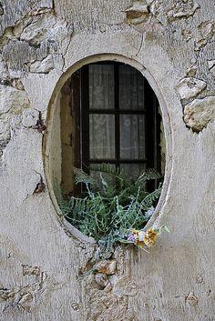a very unusual window