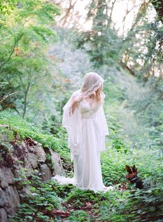 Delicate Forest Elopement