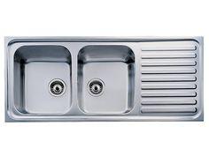 "48"" X 20"" X 6 12"" Stainless Steel Kitchen Sink With Drain Board Best Kitchen Sinks With Drainboards Inspiration Design"
