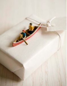 quirky gift topper