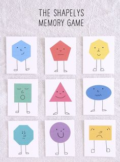 free printable memory game could easily be made into FF game