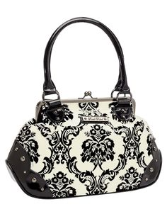 Mistress Moon White Handbag