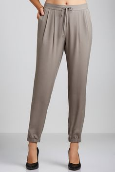 Buy Grace Hill Silk Joggers | Shop Womens Pants All Womens Styles at EziBuy NZ