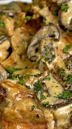 Slow Cooker Pork Chop Stroganoff Recipe ~ These savory stroganoff-style pork chops are easy and delicious