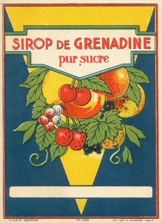 lots of neat printable vintage french labels. great way to spruce up tin cans and use in the garden :)