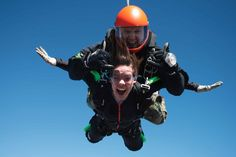 After the Jump! A first-time skydiver chronicles her flight. Written by Lindsey Lowe  B-Metro Magazine, March 2014 #skydiving