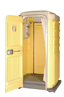 Idemo for mac with serial Lavabo Exterior, Portable Bathroom, Outhouse Bathroom, Outside Showers, Outdoor Bathrooms, Dream Bathrooms, Garden Shower, Camper Hacks, Camper Renovation