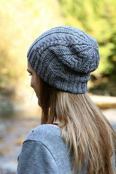 Melissa Thomson | Greystone hat knitting pattern.