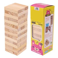 Classic Jenga Tower Set 48 Pcs Jenga Tower, Steam Toys, Engineering Toys, Jenga Game, Gifted Education, Educational Toys For Kids, Brain Teasers, Building Toys, Kids And Parenting